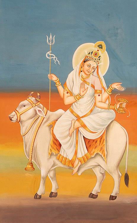 Navadurga - The Nine Forms of Goddess Durga - MAHAGAURI