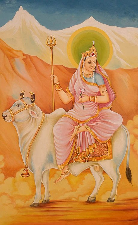 Navadurga - The Nine Forms of Goddess Durga - SHAILAPUTRI