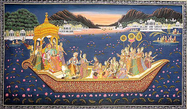 Radha-Krishna Festive Night