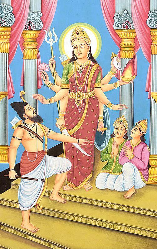 Rare Goddesses of India Series - Hingraaj Mata