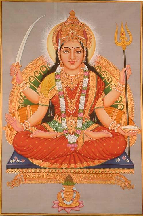 Santoshi Mata - The Goddess of Contentment