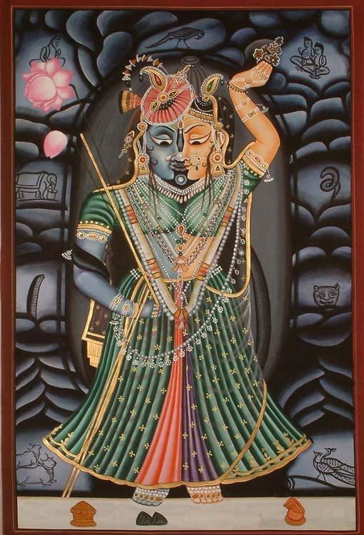 The Merger of Radha and Krishna