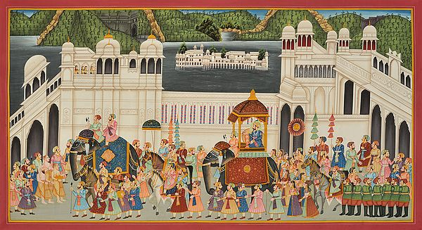 Victory Procession at Udaipur Fort