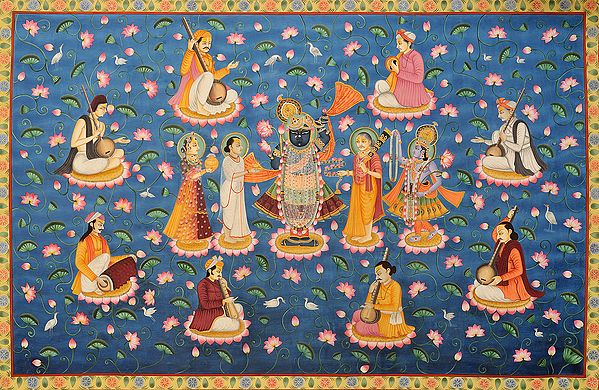 Eight Vaishnava Acharyas of Vallabha Sampradaya