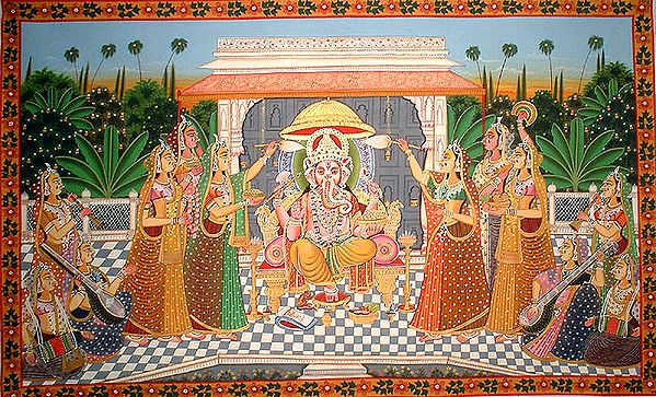 Worship and Adoration of Ganesha