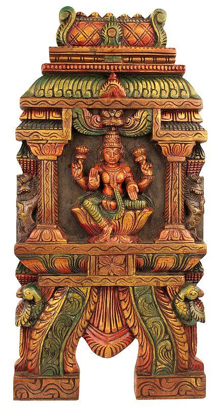 Goddess Lakshmi - Wall Hanging