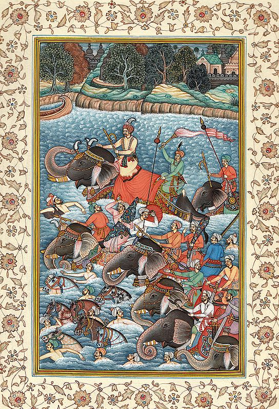 Crossing the River (An Episode from The Akbar Nama)