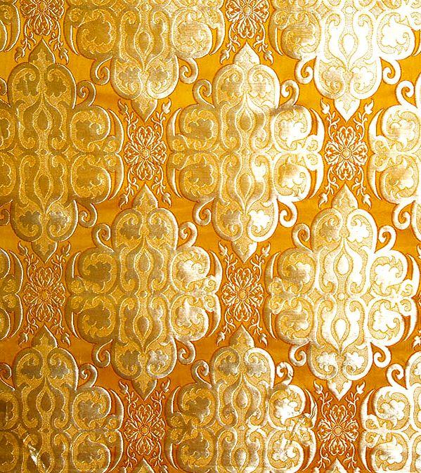 Golden Stylized Vishwavajra