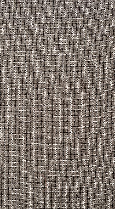 String-Gray Tweed Woven Wool Fabric from Himachal Pradesh