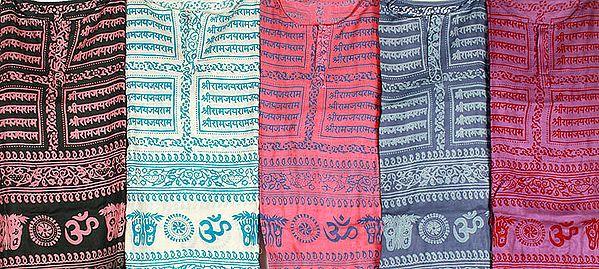 Lot of Five Sri Ram Kurta Tops