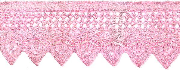 Lotus Crochet Border with Cut-work