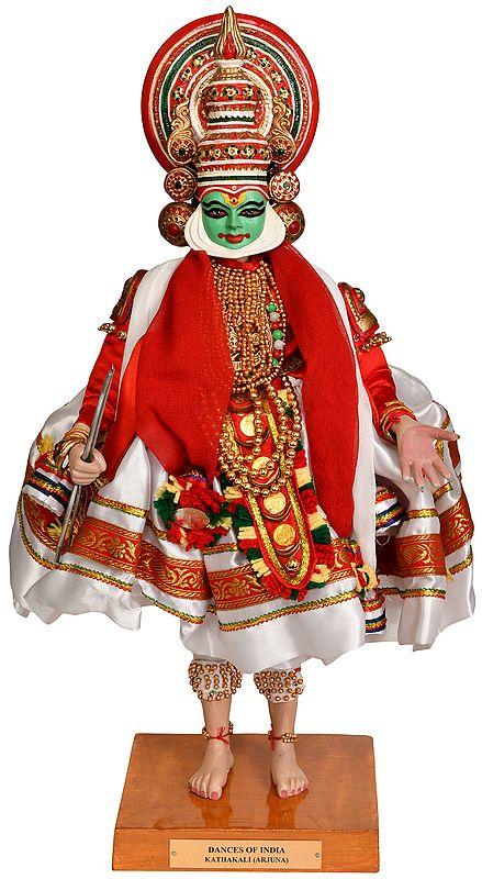 DANCES OF INDIA, Kathakali (Arjuna)
