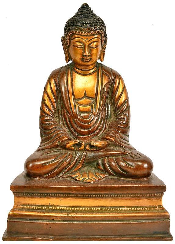 Japanese Buddhist - Lord Buddha in Meditation