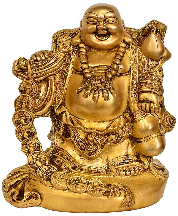 The Joyous Laughing Buddha - Tibetan Buddhist
