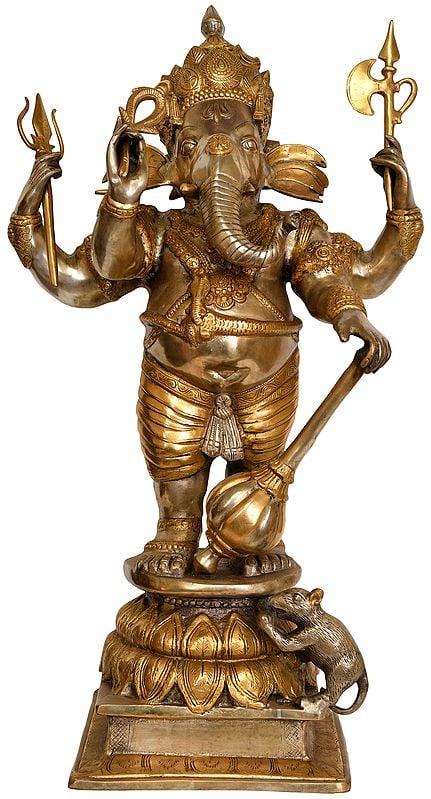 Large Size Warrior Ganesha