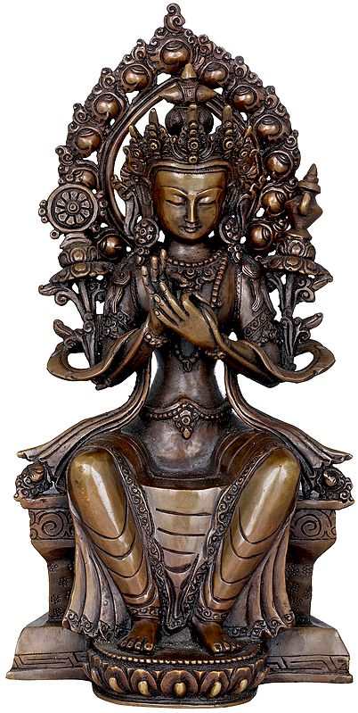 Tibetan Buddhist Maitreya Buddha- The Friendly Bodhisattva (Made in Nepal)