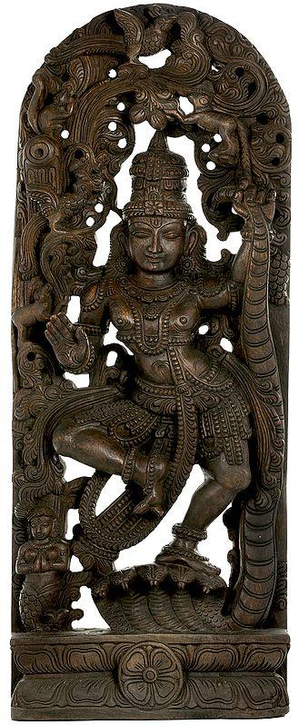 Krishna's Victory Dance on Kaliya