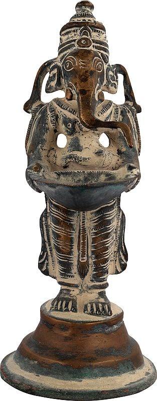 Auspicious Ganesha Lamp