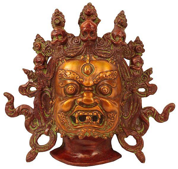 Mahakala Wall Hanging Mask