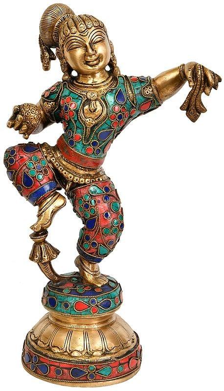 Dancing Baby Krishna