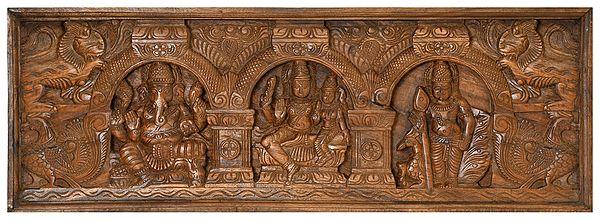 The Shiva Family Panel