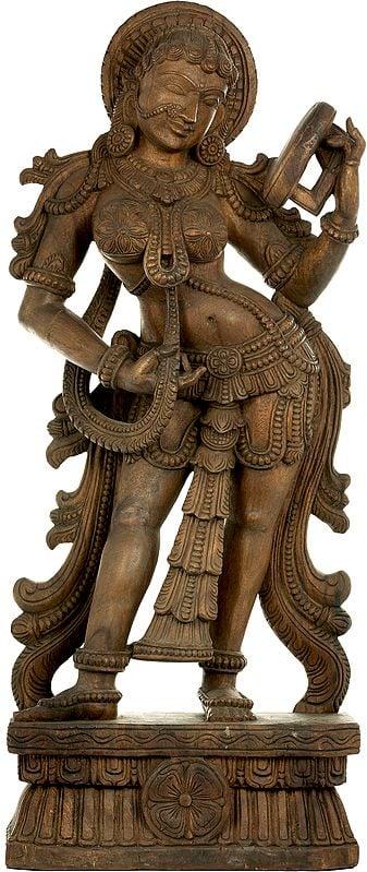 Apsara (A Sculpture Inspired by Khajuraho)
