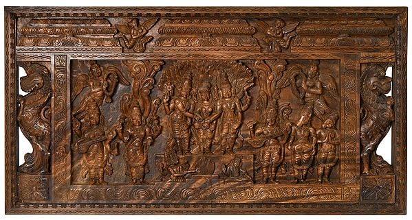 Kalyansundaram (Marriage Scene of Shiva Parvati)