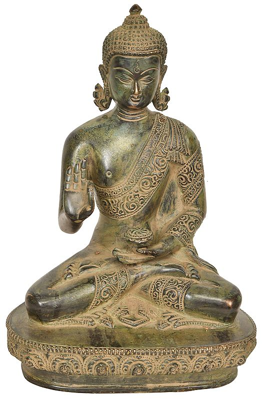 Fine Buddha in Preaching Mudra