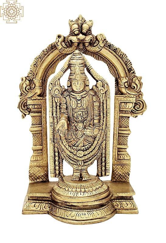 Lord Venkateshvara as Balaji at Tirupati