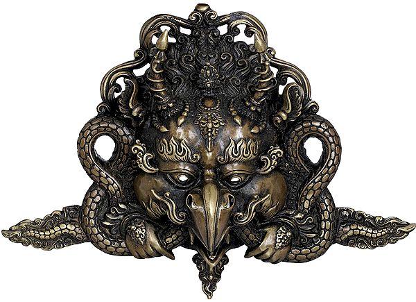 Tibetan Buddhist Garuda Mask - Made in Nepal