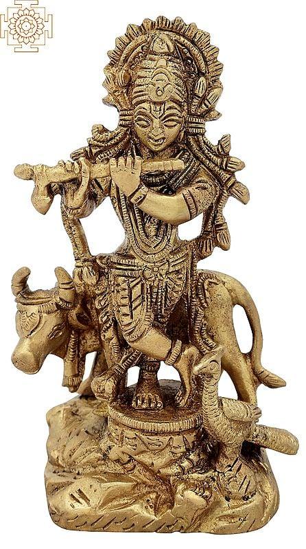 Gopala (Lord Krishna with Cow)