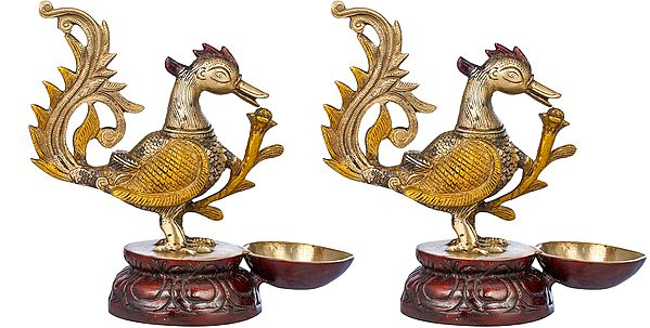 Peacock Lamp (Price Per Pair)