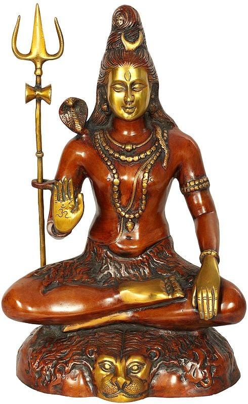 Shiva Engaged in Penance: Yoga-Dakshina-Murti Shiva