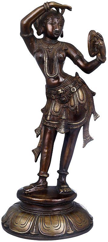 Shringar-Rata Nayika (From Khajuraho)