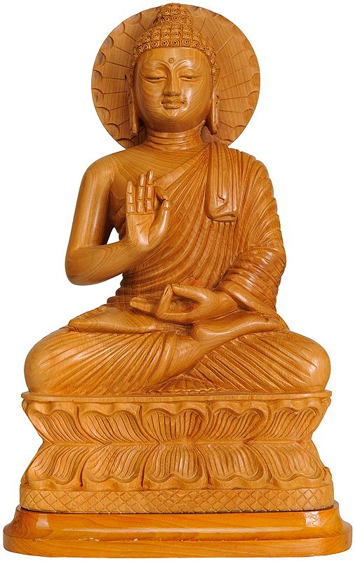 Tibetan Buddhist Deity Lord Buddha Preaching His Dharma