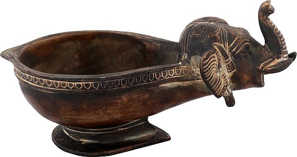 Lamp with Elephant Head