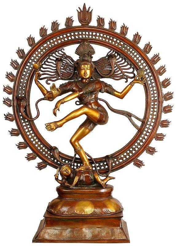 Lord Shiva as Nataraja (Large Statue)