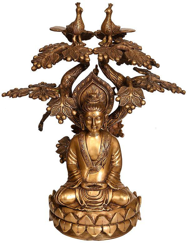 The Buddha Under the Bodhi-Tree