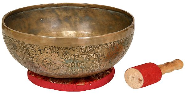 Tibetan Buddhist Ritual Singing Bowl