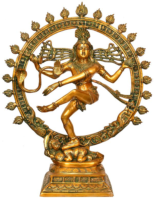 The Resplendence Of Dancing Shiva