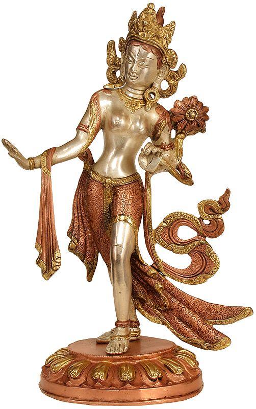 Tibetan Buddhist Standing Tara