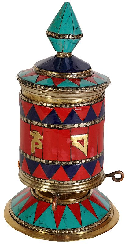 Prayer Wheel -Tibetan Buddhist
