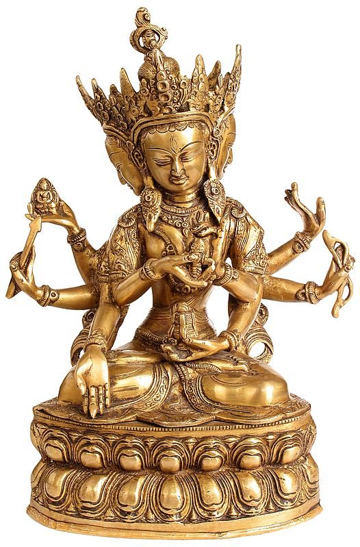 Tibetan Buddhist Ushnishvijaya: The Goddess Victorious Over Death
