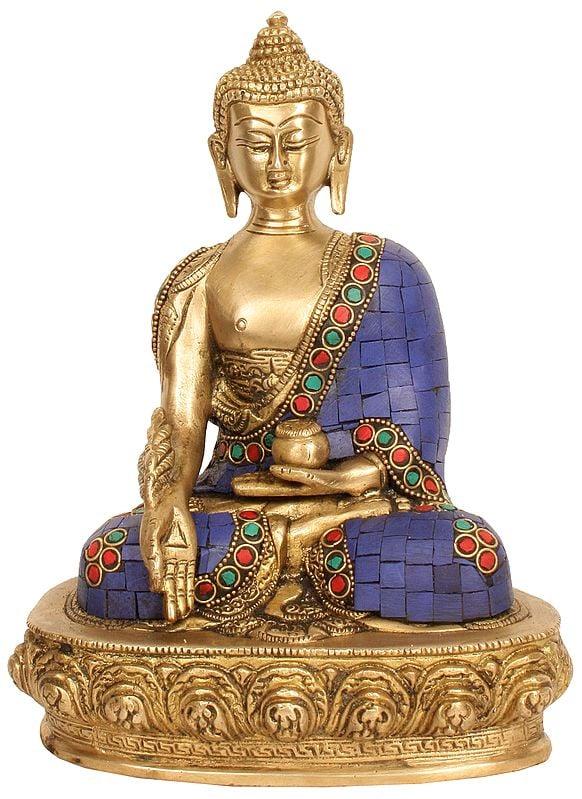 Tibetan Buddhist Deity Lapis Buddha of Healing (Medicine Buddha)