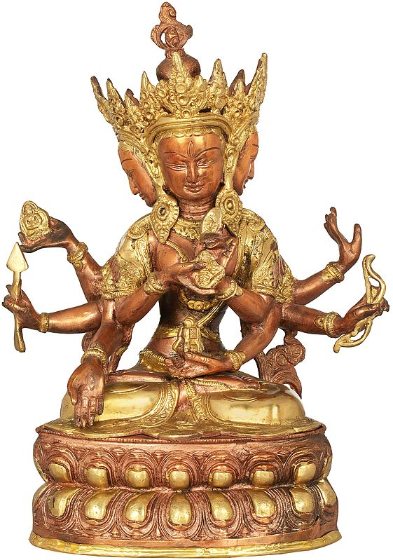 Tibetan Buddhist Ushnishavijaya: The Goddess Victorious Over Death