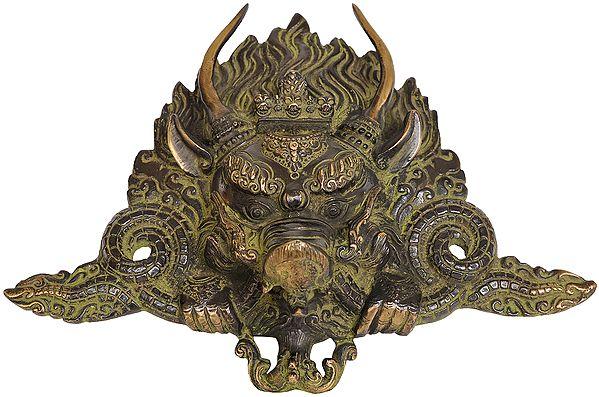 Tibetan Buddhist Yamantaka Mask