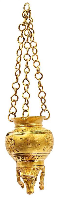 Dripping Nandi Vase for Milk to Abhishek Shiva Linga