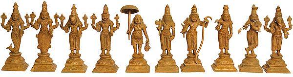 Dashavtara (Set of Ten Sculptures)