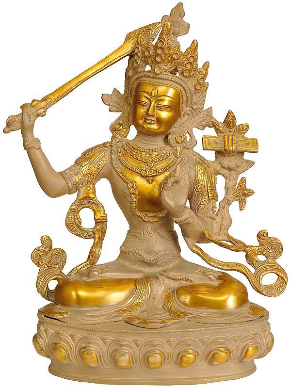 Manjushri The Golden Youth (Tibetan Buddhist Deity)