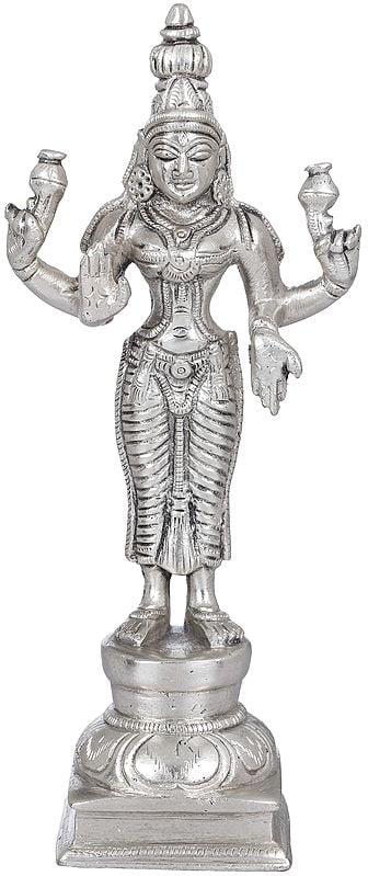 Four Armed Standing Lakshmi (Goddess of Wealth and Prosperity)